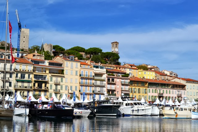 Boats in Cannes Marina
