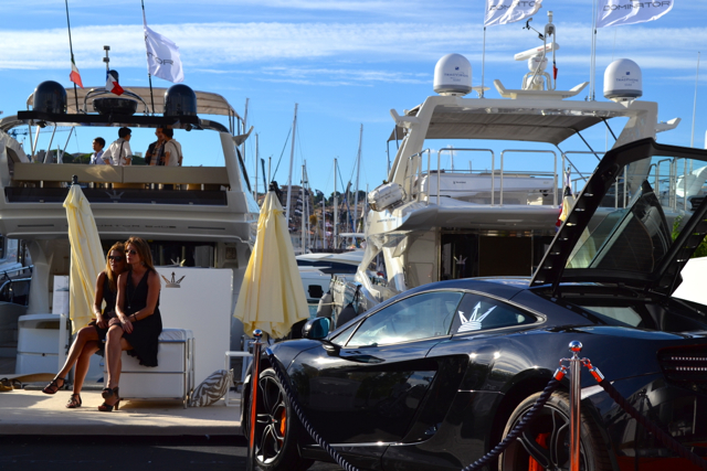 Dominator at the Cannes boat Show