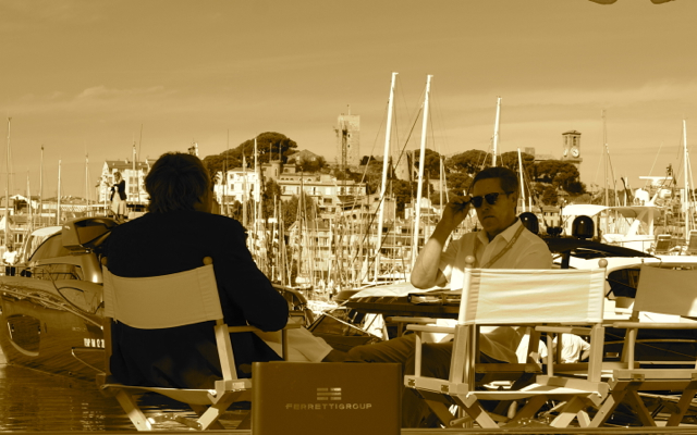 Ferretti Meeting at the Cannes Show