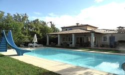 The Cieux Bleus Villa in the South of France