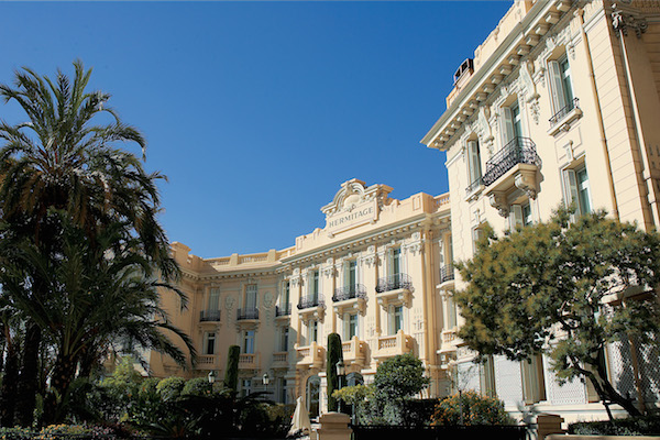 Hotel Hermitage in Monte-Carlo