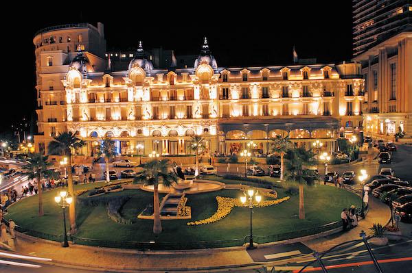 Hotel de Paris in Monte-Carlo