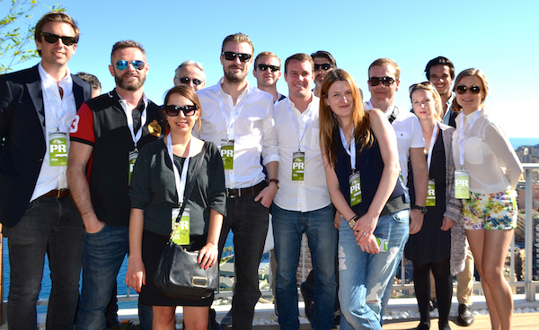 Relevance Team with Press at F1 in Monaco