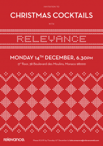 Relevance Digital Xmas Party Invitation 2015