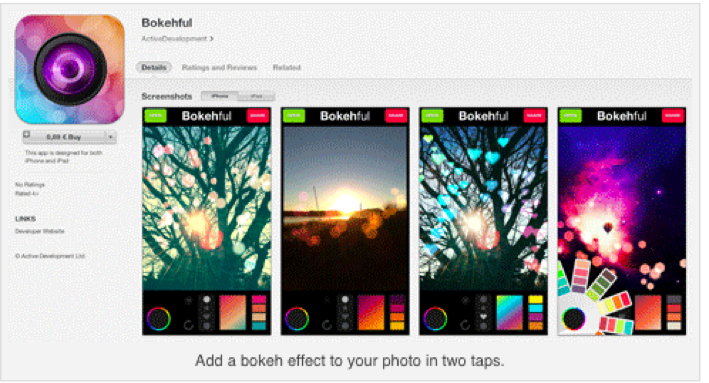 bokehul 5 Useful Instagram Picture Apps
