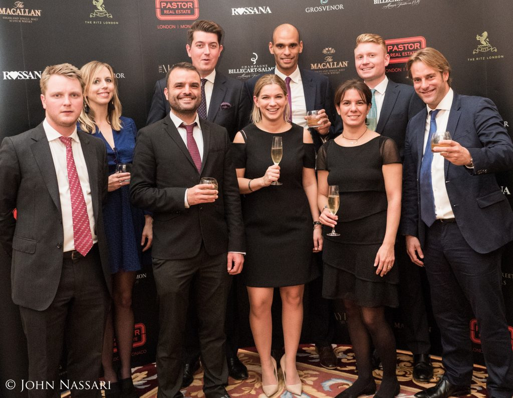 The Pastor Real Estate team and Relevance attend the Mayfair Awards 2016
