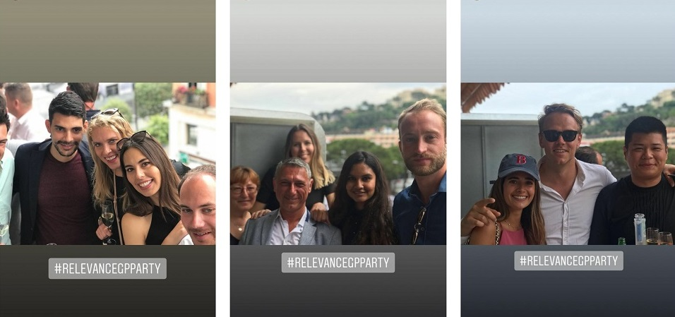 Relevance Monaco Grand Prix Collage One