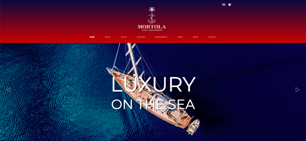 Take a look at our Mortola website launch