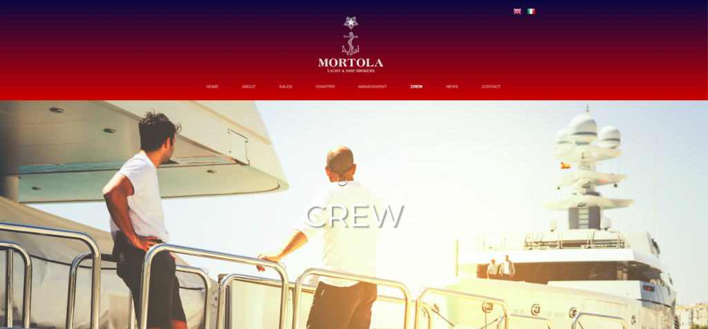 Check out Mortola Yacht's crew page