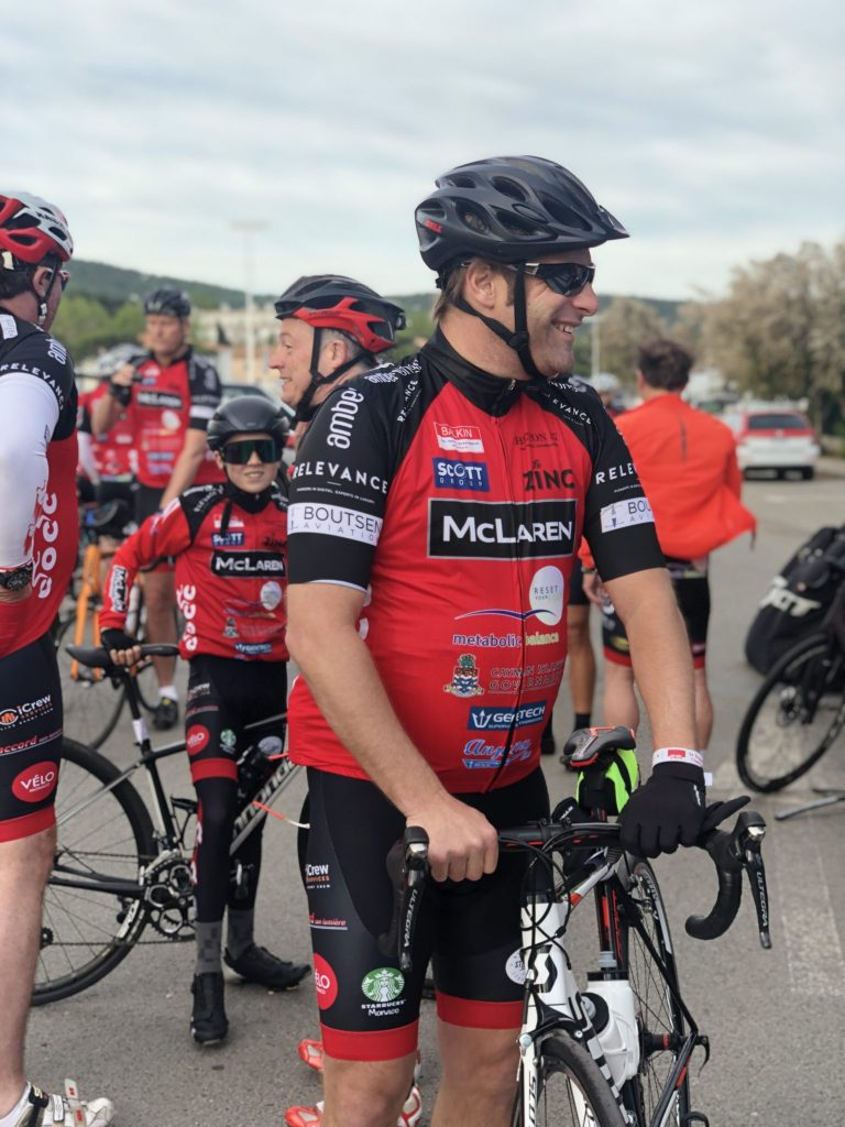 Relevance CEO Rumble prepares for the COCC 2019 charity bike ride