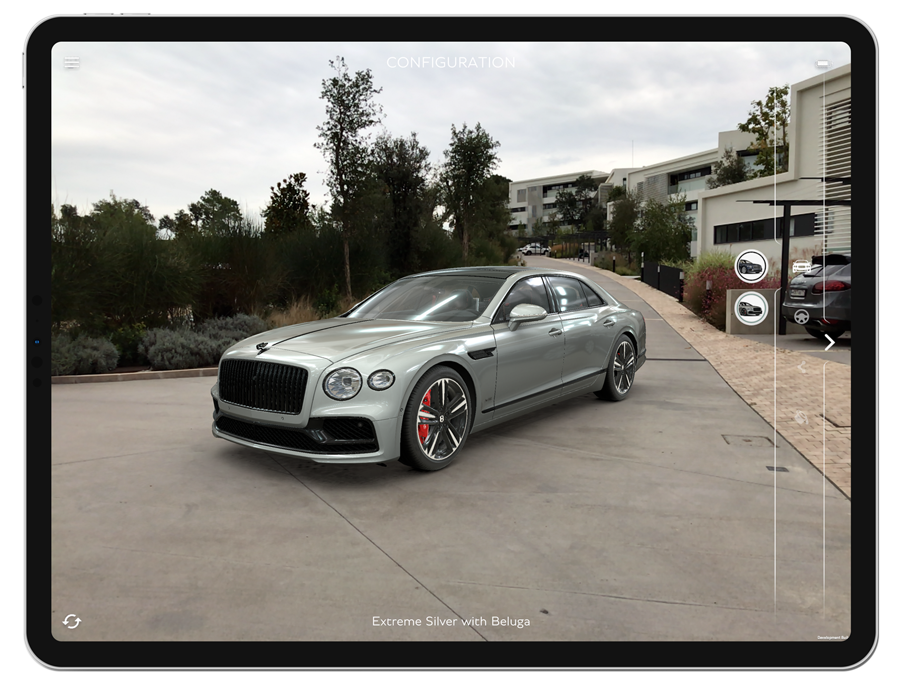 Bentley Flying Spur Augmented Reality Experience