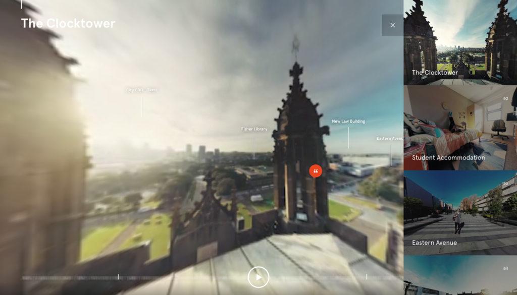 Sydney University Immersive 360 Experience